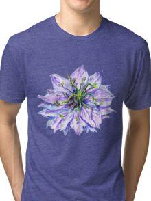 Light Mauve Flower  Tri-blend T-Shirt