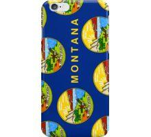 Smartphone Case - State Flag of Montana - Vertical III iPhone Case/Skin