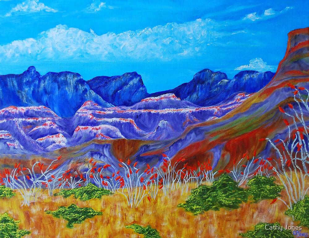 Ocotillo View by Cathy Jones
