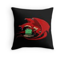 Keeper of Fate (red) Throw Pillow