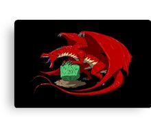 Keeper of Fate (red) Canvas Print