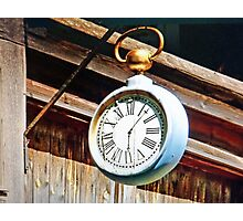 Antique Time Piece Photographic Print