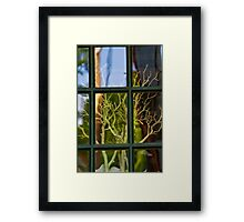 In or out? Framed Print