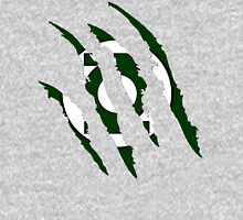 Superhero Ripped Design - Green Lantern T-Shirt