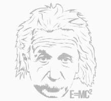 Excuse Me While I Science: Albert Einstein = E=mc² by AlexNoir