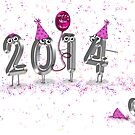 Goodbye to 2013 by Maria Dryfhout