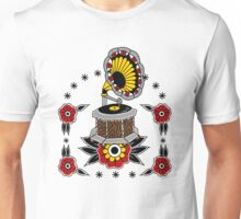 Gramophone Old Skool Tattoo Cool Stuff Unisex T-Shirt