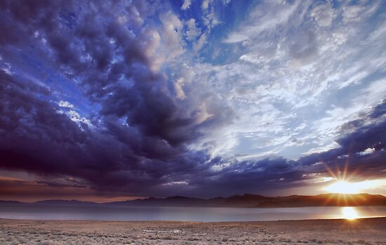 Dying Thunderstorms by SB  Sullivan