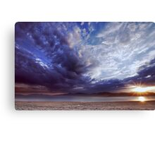 Dying Thunderstorms Canvas Print