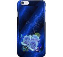 C.E. Blue Roses Art iPhone Cover iPhone Case/Skin