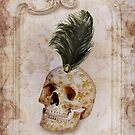 Skull & Feather by Elizabeth Burton