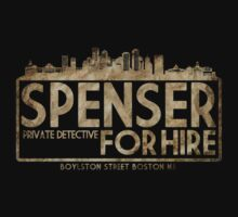 Robert B. Parker's Spenser (For Hire) by OutlawOutfitter