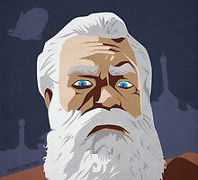 Bioshock Infinite - Prophet Comstock Propaganda by Kodi  Sershon