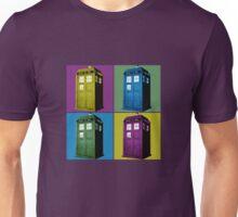 Pop Art Tardis  Unisex T-Shirt