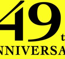 Funny 70th Birthday (Anniversary) Sticker