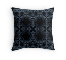 Blue Steel Tapestry Throw Pillow