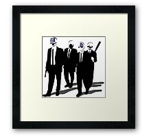 Payday Dogs Framed Print