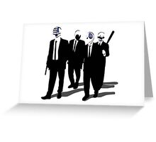 Payday Dogs Greeting Card