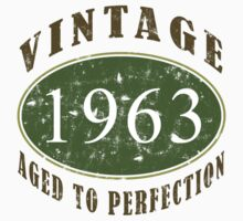 1963 Vintage Birthday by thepixelgarden