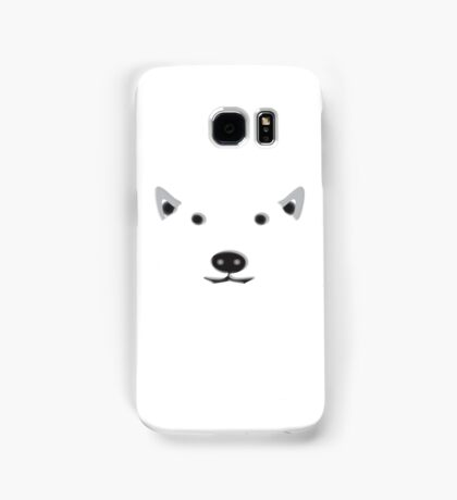 POLAR, BEAR, FACE, ARCTIC, FRIENDLY, Ursus maritimus, Eco, Ecology, Nature Samsung Galaxy Case/Skin