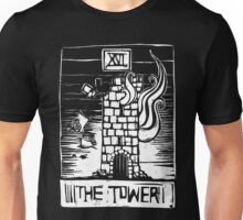 The Tower - Tarot Cards - Major Arcana Unisex T-Shirt