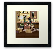 Real boy dream Framed Print