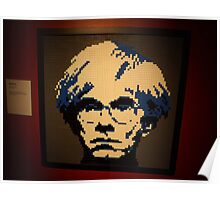 Lego Andy Warhol, Art of the Brick Exhibition, Discovery Times Square, New York City, Nathan Sawaya, Artist Poster