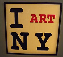 "Lego, ""I Heart New York"",  Art of the Brick Exhibition, Discovery Times Square, New York City, Nathan Sawaya, Artist by lenspiro"