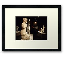 Lego Sculptures, Art of the Brick Exhibition, Discovery Times Square, New York City, Nathan Sawaya, Artist Framed Print