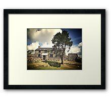 Ditsworthy Warren House 3 Framed Print