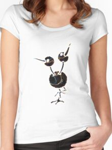 Doduo Women's Fitted Scoop T-Shirt