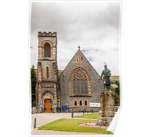 Building, Duncansburgh Macintosh parish church, Fort William, Scotland Poster