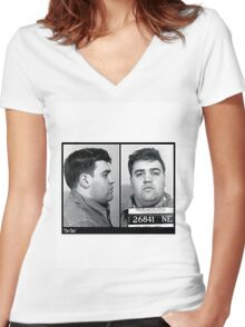 Vincent Gigante - The Chin Women's Fitted V-Neck T-Shirt