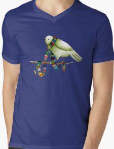 New Scarf Mens V-Neck T-Shirt