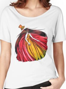 """""""Who is the mad hatter ?"""" : Le Chaperon Rouge / The Red Riding Hood Women's Relaxed Fit T-Shirt"""