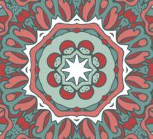 Patterned Mandala Sticker