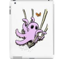 Octopus Swinging with Butterfly iPad Case/Skin