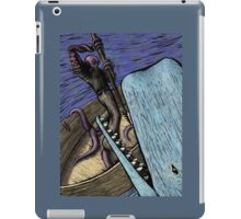 Octoman Vs. Whale iPad Case/Skin