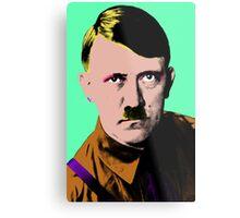 Hitler Warhol Single Metal Print