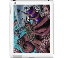 Giant Pacific Octopus versus Great White Shark iPad Case/Skin
