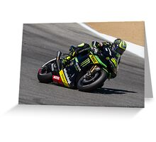 Cal Crutchlow at laguna seca 2013 Greeting Card