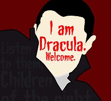 Dracula [ Iphone / Ipod / Ipad / Shirt / Print ] by swelldame