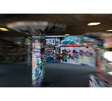 Graffiti Warp Photographic Print