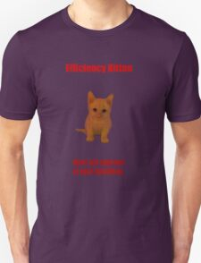 Efficiency Kitten T-Shirt