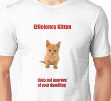 Efficiency Kitten Unisex T-Shirt