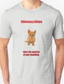 Efficiency Kitten T-Shirt