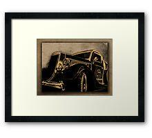 ©HS Ford V8 1936 Vintage Framed Print