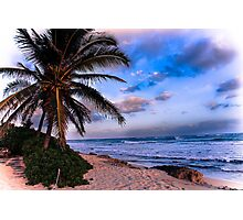 Barbers Point, Oahu, Hawaii Photographic Print