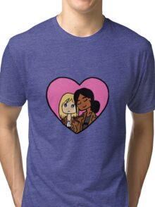 Yumikuri Heart Tri-blend T-Shirt