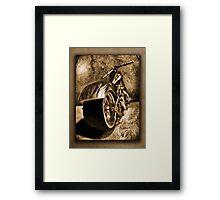 ©HS Chopper Vintage II Framed Print